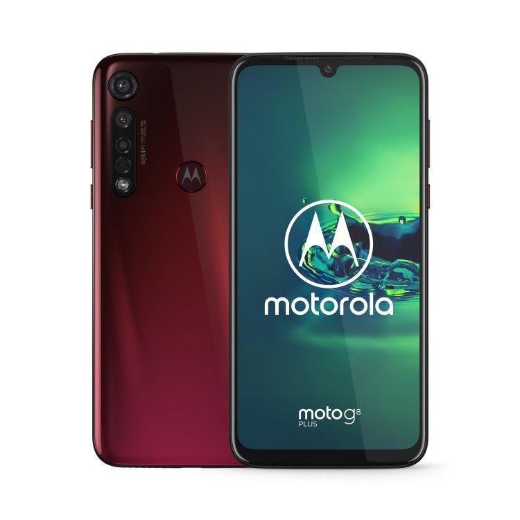 Motorola Moto G8 Plus, Dual SIM, Crystal Pink-CZ distribuce