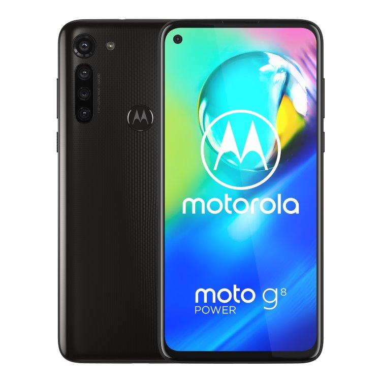 Motorola Moto G8 Power, Dual SIM, Smoke Black-CS distribuce