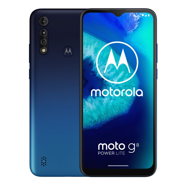 Motorola Moto G8 Power Lite, Dual SIM, Galaxy Blue-CS distribuce