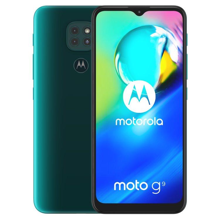 Motorola Moto G9 Play, 4/64GB, Dual SIM, Forest Green-CZ distribuce + Moto Buds v hodnotě 99 €