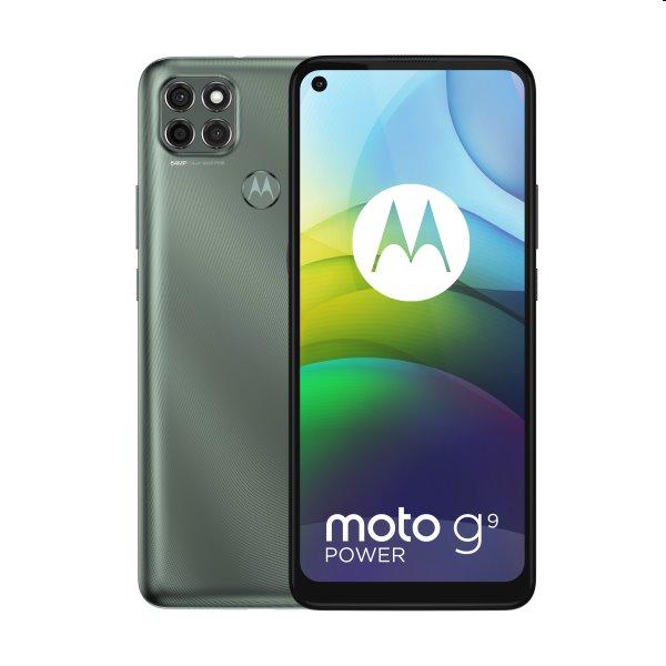Motorola Moto G9 Power, Dual SIM, grey - SK distribúcia
