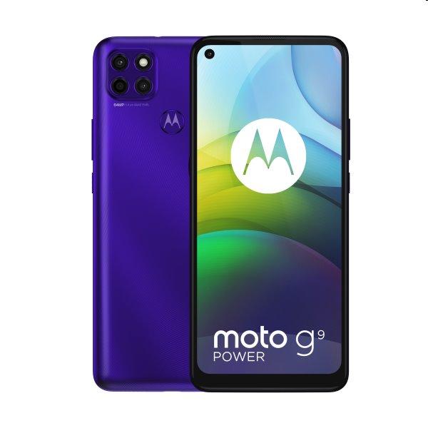 Motorola Moto G9 Power, Dual SIM, electric violet - SK distribúcia