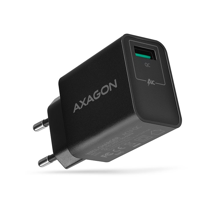 Nabíječka AXAGON ACU-QC QuickCharge 3.0-19W, Black
