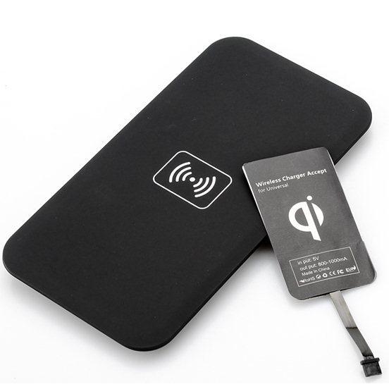 Nabíječka bezdrátová + ultratenký nabíjecí modul BestCharger pro mobily Nokia a HTC
