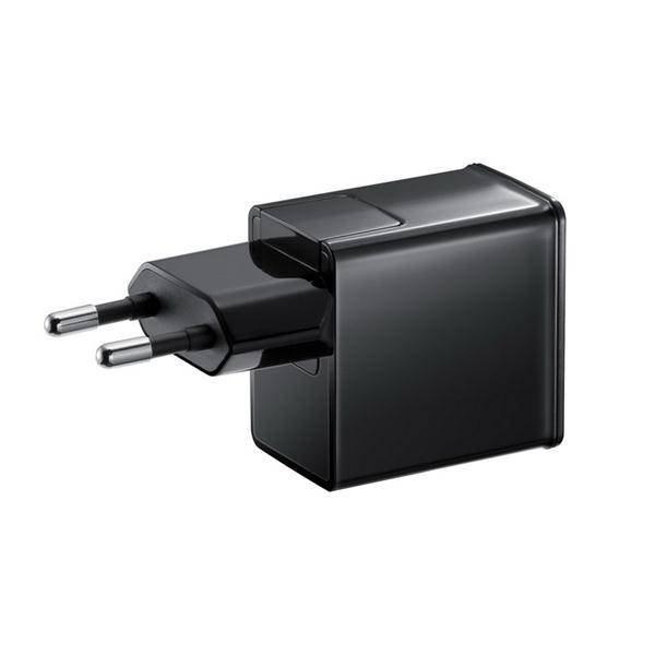 Nabíječka Samsung ETA-P11EBE s 30pin kabelem pro tablety Samsung Galaxy, Black