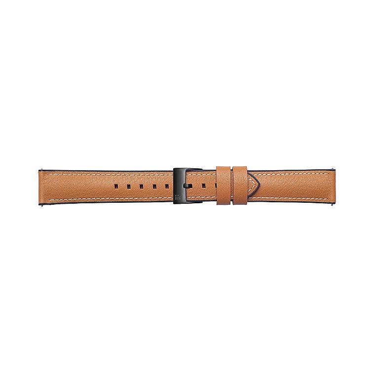 Náhradní kožený řemínek Samsung Braloba Urban GP-R805B (22mm) pro Samsung Galaxy Watch SM-R800, Tan