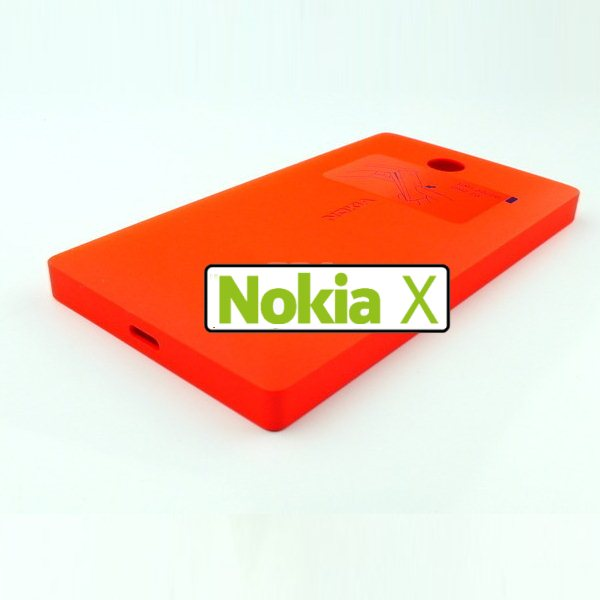 Náhradní kryt Nokia CC-3080 pro Nokia X a Nokia X, Red