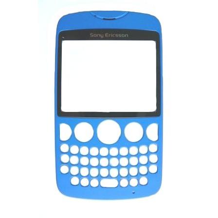 Náhradní přední kryt pro Sony Ericsson TXT CK13, Blue