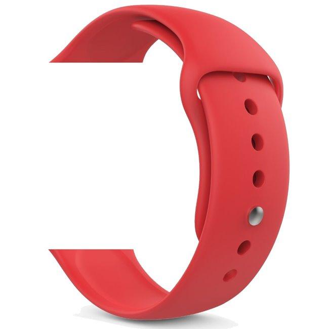 Náhradní řemínek pro Apple Watch 38/40mm, red