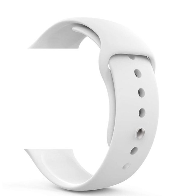 Náhradní řemínek pro Apple Watch 42/44mm, white