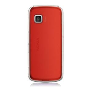 Náhradní zadní kryt pro mobil Nokia 5230 | Červený + Stylus
