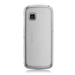 Náhradní zadní kryt pro mobil Nokia 5230 | Stříbrný + Stylus
