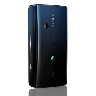 Náhradní zadní kryt pro Sony Ericsson Xperia X8, BlackBlue