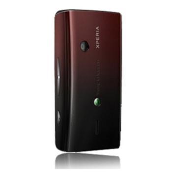 Náhradní zadní kryt pro Sony Ericsson Xperia X8, BlackRed