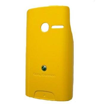 Náhradní zadní kryt pro Sony Ericsson Yendo W150, Yellow