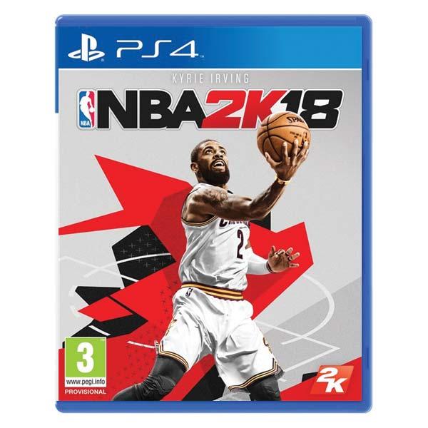 NBA 2K18[PS4]-BAZAR (použité zboží)