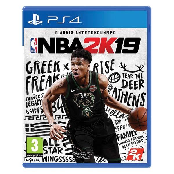 NBA 2K19[PS4]-BAZAR (použité zboží)
