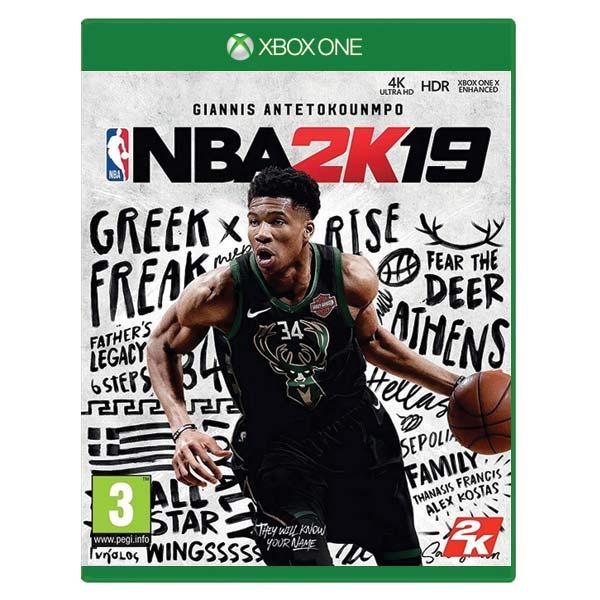 NBA 2K19[XBOX ONE]-BAZAR (použité zboží)