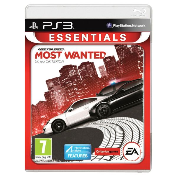 Need for Speed: Most Wanted-PS3-BAZAR (použité zboží)