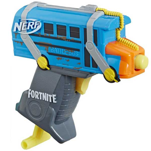 Nerf Microshots Micro Battle Bus Blaster (Fortnite)