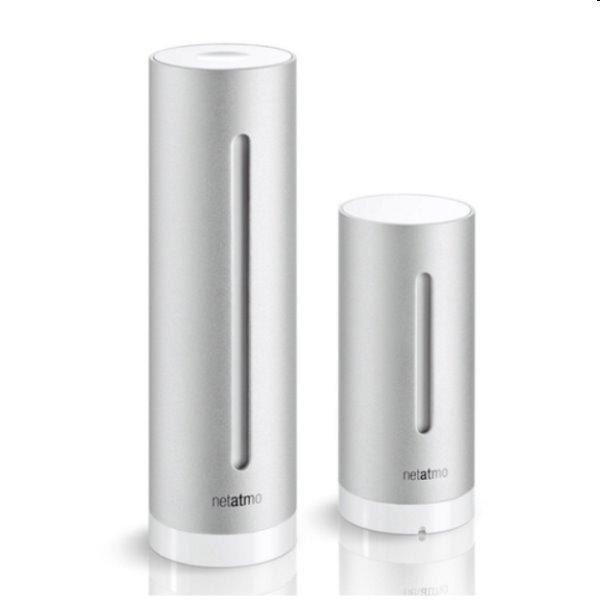 Netatmo Meteostanica pre iPhone/iPad/iPod Touch - strieborná