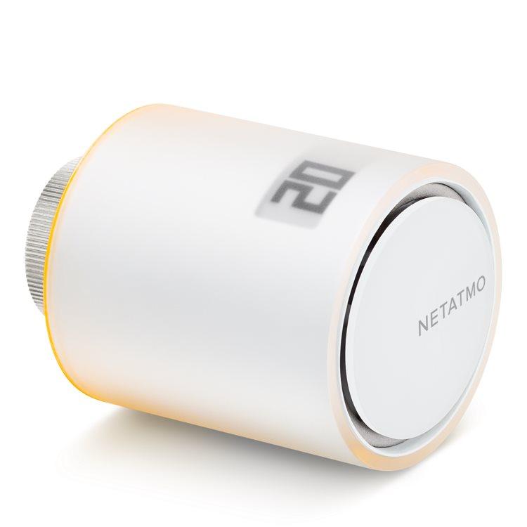 Netatmo Single Valve-inteligentní termostatická hlavice