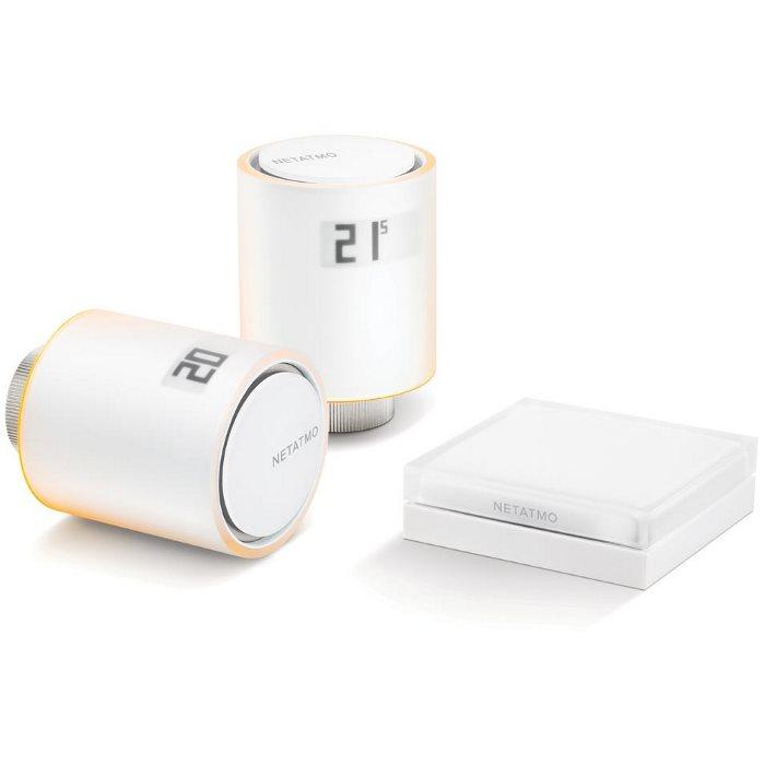 Netatmo Valves Starter Pack-set inteligentních termostatických hlavic