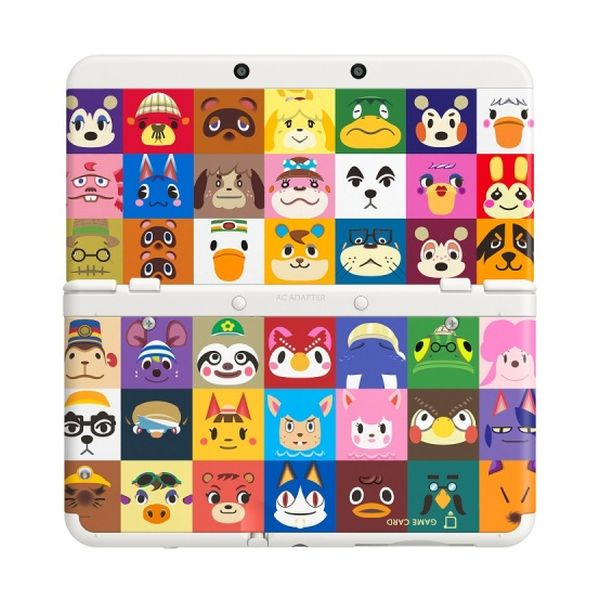 New Nintendo 3DS Cover Plates, Animal Crossing: Happy Home Designer
