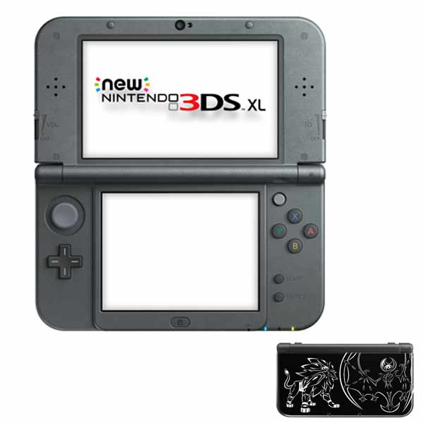 New Nintendo 3DS XL, Solgaleo and LUNA (Limited Edition)