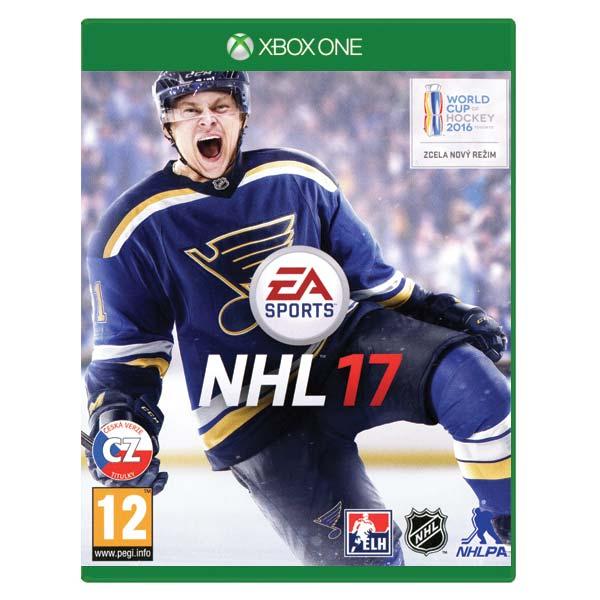 NHL 17 CZ[XBOX ONE]-BAZAR (použité zboží)