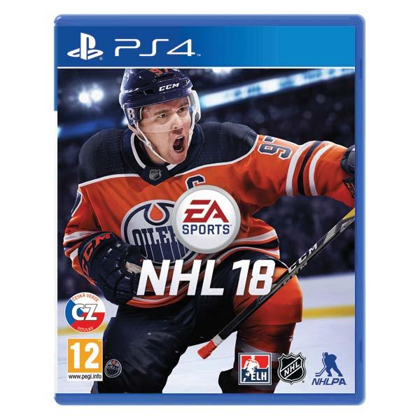 NHL 18 CZ[PS4]-BAZAR (použité zboží)