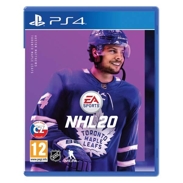 NHL 20 CZ PS4