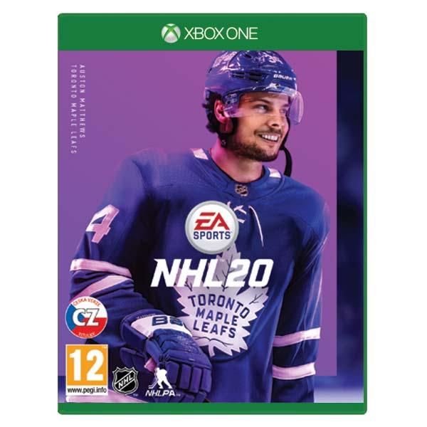 NHL 20 CZ[XBOX ONE]-BAZAR (použité zboží)
