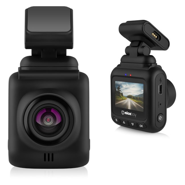 NiceBoy Pilot XS-FullHD kamera do auta