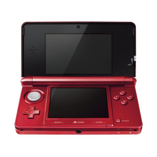 Nintendo 3DS, metallic red