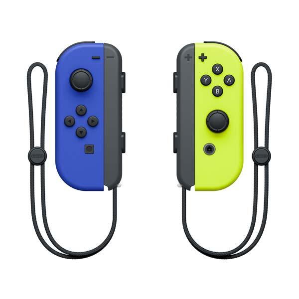 Ovládače Nintendo Joy-Con Pair, modrý / neónovo žltý