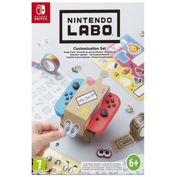 Nintendo Switch Labo Customisation Set