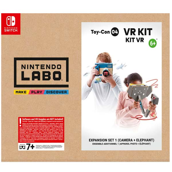 Nintendo Switch Labo VR Kit rozšiřující sada 1 (kamera + slon)
