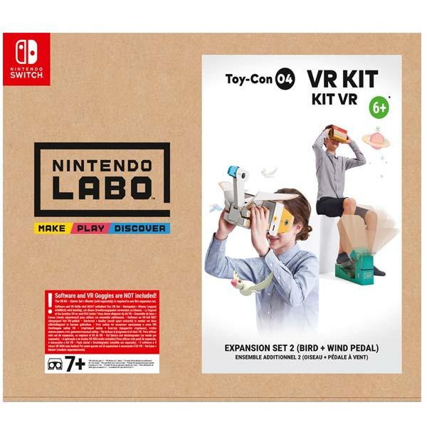 Nintendo Switch Labo VR Kit rozšiřující sada 2 (pták + pedál)
