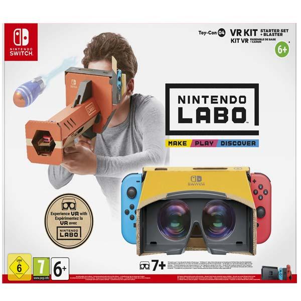 Nintendo Switch Labo VR Kit začátečnické balení (VR brýle + puška)