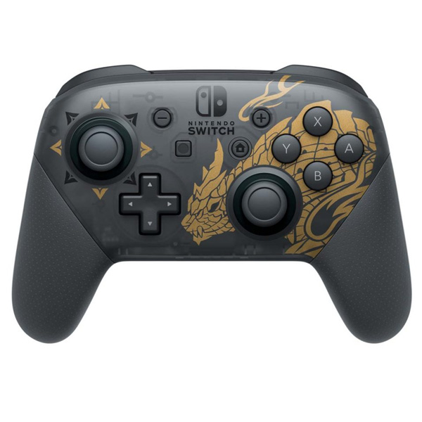 Nintendo Switch Pro Controller (Monster Hunter Rise Edition)