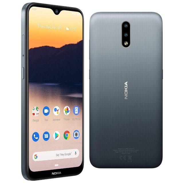 Nokia 2.3, Dual SIM, Grey-CZ distribuce