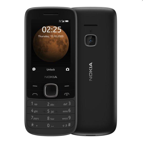 Nokia 225 4G, Dual SIM, black