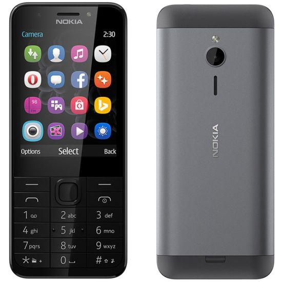 Nokia 230, Dual SIM, Dark Silver - CZ distribuce