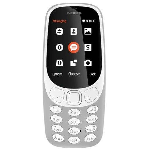 Nokia 3310 (2017), Dual SIM, Grey-CZ distribuce