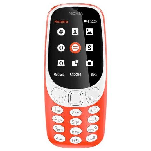 Nokia 3310 (2017), Dual SIM, Red-CZ distribuce
