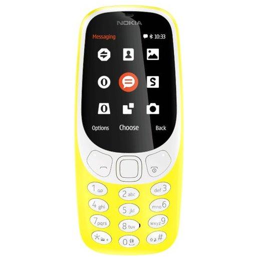 Nokia 3310 (2017), Dual SIM, Yellow-CZ distribuce
