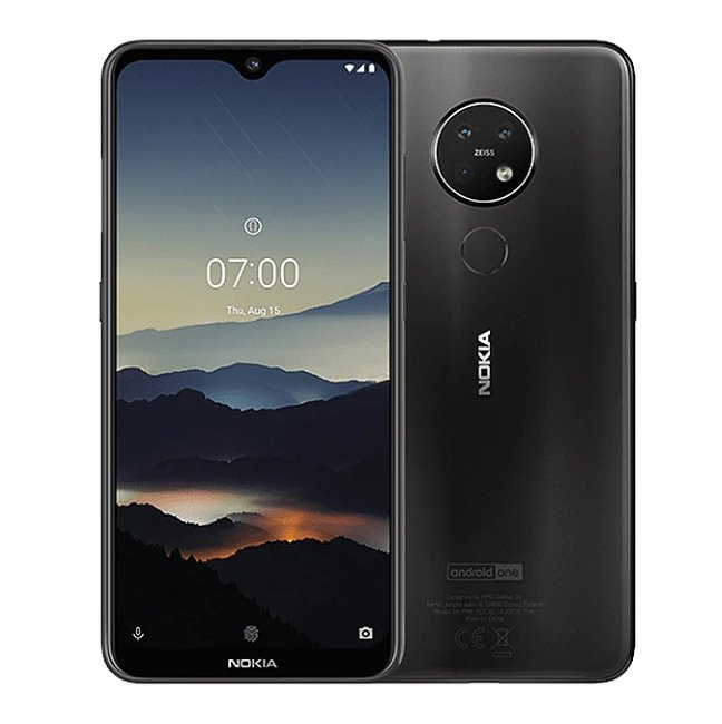Nokia 7.2, 6GB/128GB, Dual SIM, Charcoal