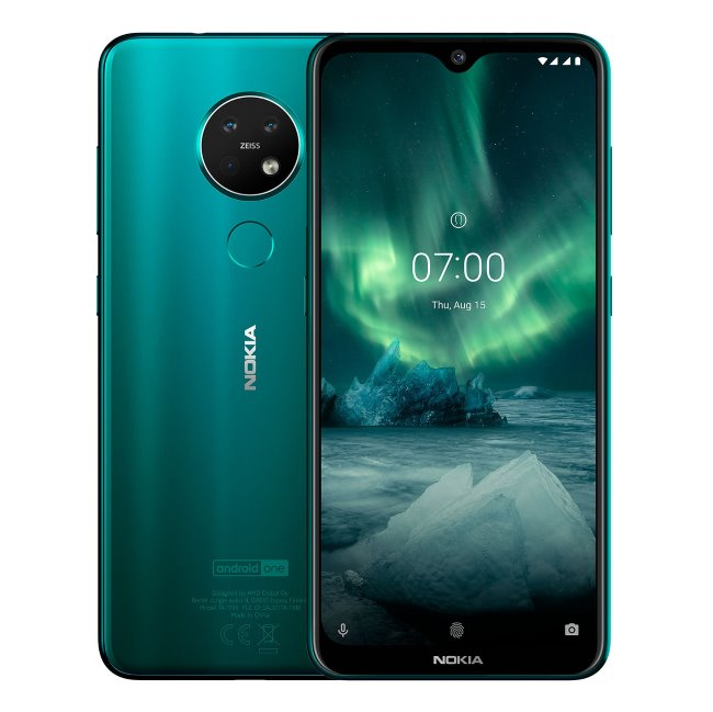 Nokia 7.2, 6GB/128GB, Dual SIM, Cyan Green