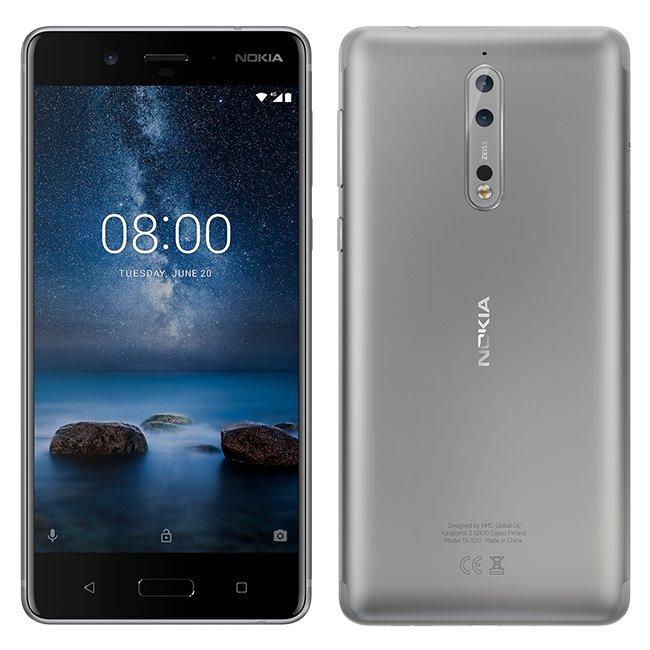 Nokia 8, Dual SIM, 64GB, Steel-CZ distribuce